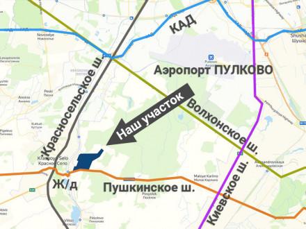 Продажа земельного участка 450000 м² Петровская улица 10