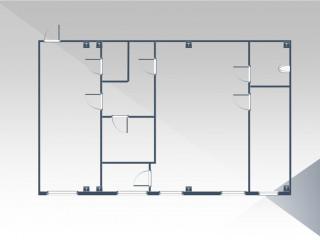 План помещения: Продажа офиса, 136 м² , Кислородная улица 8К , №1